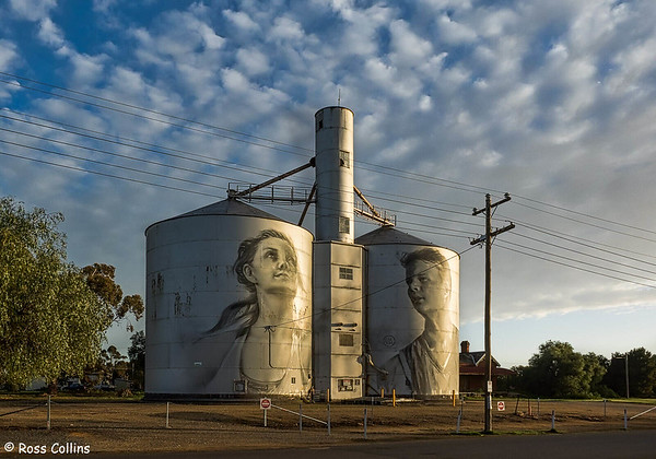 Silo Art Trail, Victoria, Australia, 12 September 2018