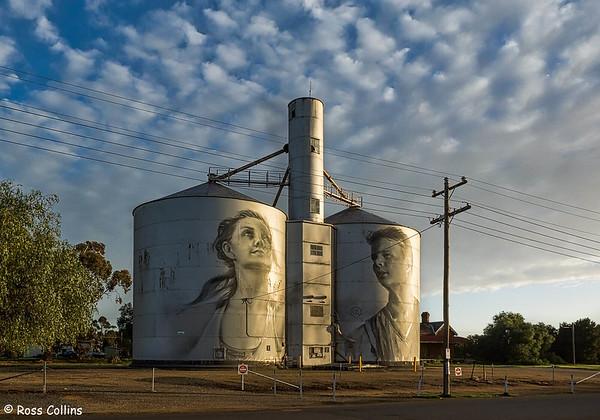 Silo Art Trail, Victoria, Australia, 12 September 2018