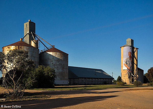 Silo Art Trail, Victoria, Australia, 11 September 2018
