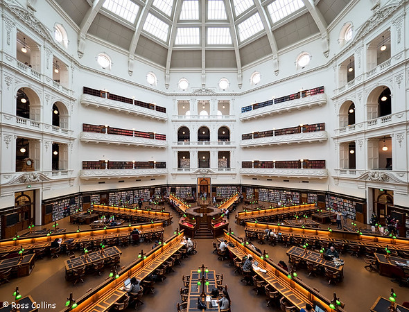 State Library of Victoria, Melbourne, Australia, 9 September 2016
