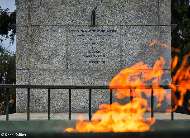 Shrine of Remembrance, Melbourne, Australia, 10 September 2016