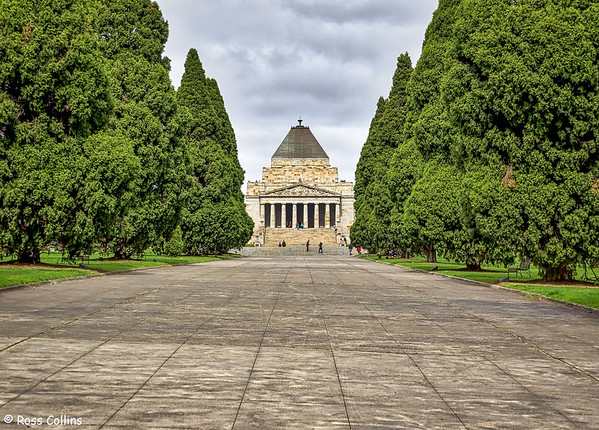 Shrine of Remembrance, Melbourne, Australia, 10 September 2016