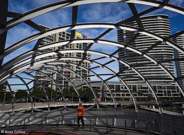 Webb Bridge, Melbourne, Australia, 5 July 2015