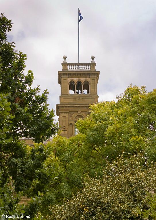 Werribee Park, Victoria, Australia with Lempriere sculptures, March 2007