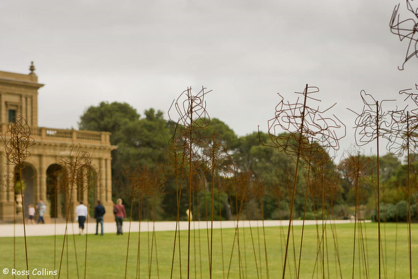 Werribee Park, Victoria, Australia with Lempriere Sculptures, 12 March 2007