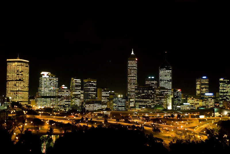 Perth from Kings Park.<br /> M8, 35mm Summicron, 1/15 at f/2