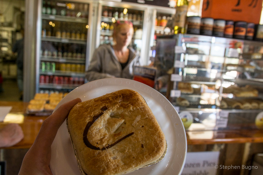 Curried Camel Pie at the Birdsville Bakery
