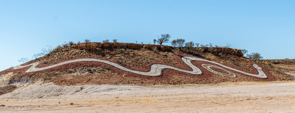 The Dreamtime Serpent, Diamantina Shire