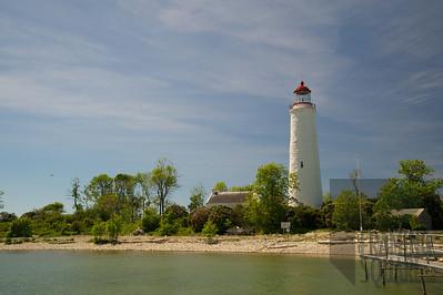 Chantry Lighthouse, South Hampton, Ontario, Canada