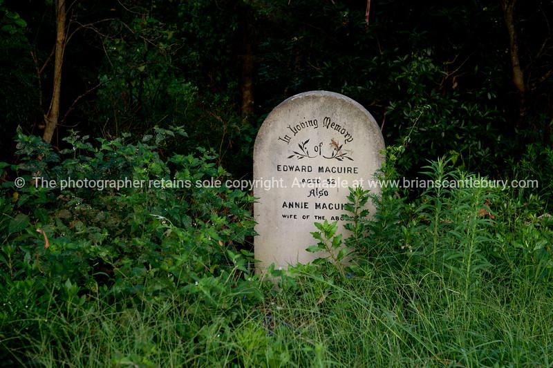 Kangaroo Valley, headstone.