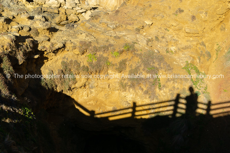The natural arch and bridge of The Grotto geological formation