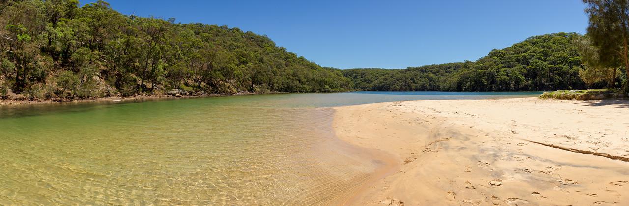 Basin Campground, Ku-Ring-Gai Chase NSW, Australia