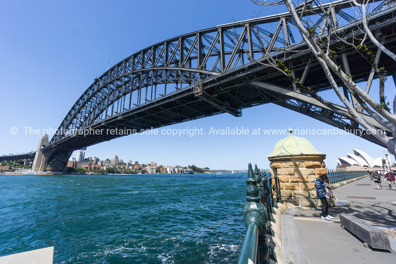 Sydney Harbor Bridge from below
