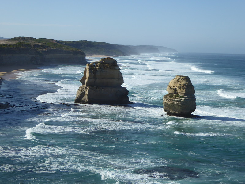 2 rocks not part of the 12 Apostles, but close by