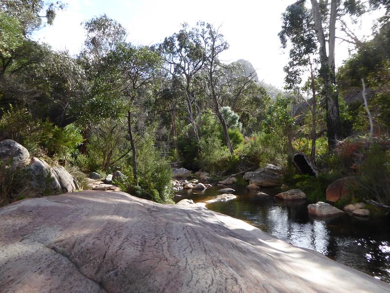 Downstream from Venus Baths, Halls Gap, Grampians
