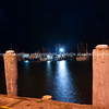 Coffs harbour Wharf at night.