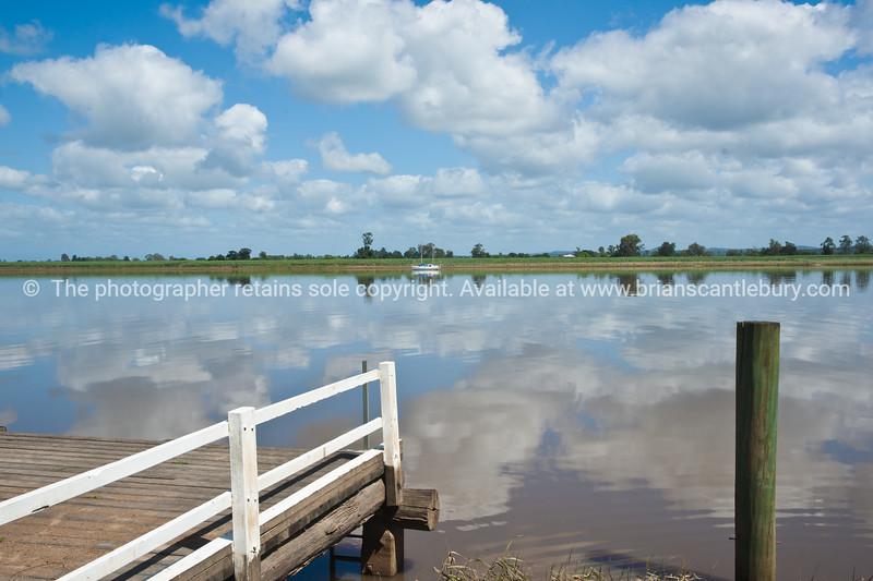 Across Clarence River from near Ulmarra. Australia.