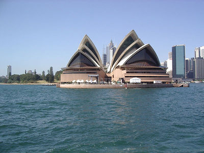 Sydney Opera House from the ferry