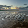 Low tide at sunset. Cairns, Australia