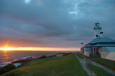 Green Cape Lighthouse, NSW, Australia -sunrise