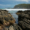 Batemans bay area, Australia, rocky coastline.