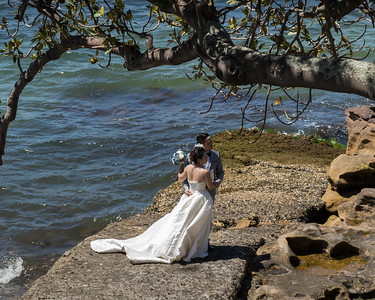 Weddding, Sydney Harbor