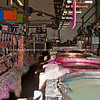Nimbin Candles, candle being manufactured.<br /> Nimbin Candle Factory is located in the historic Nimbin Butter Factory