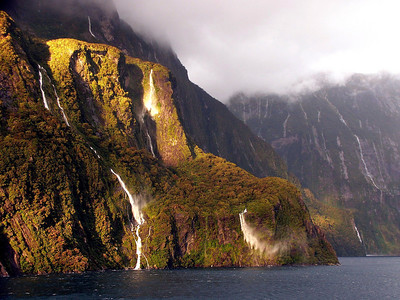Fiordland National Park Falls