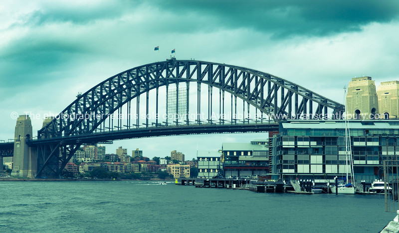 Sydney Harbor Bridge, Australia.
