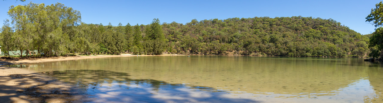 Basin Campground, Ku-Ring-Gai Chase NSW, Australia