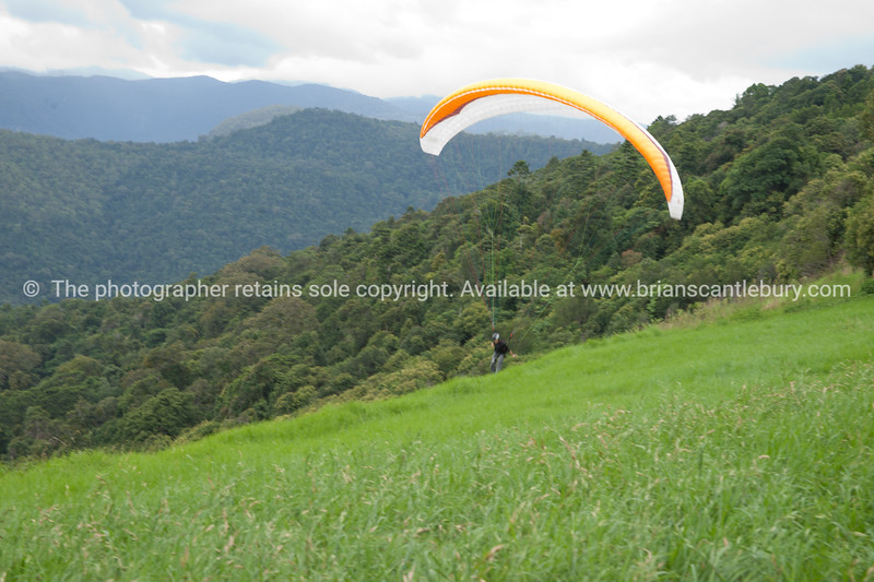 "Hang gliding, coming into land.<br />  see also <a href=""http://smu.gs/14LcY8Y"">http://smu.gs/14LcY8Y</a> Fine Art Photograhpy for landscapes."