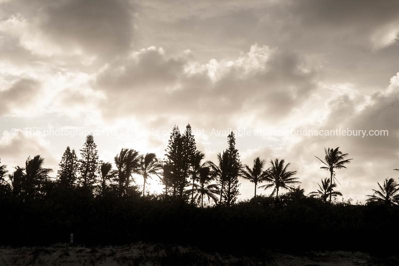 Fraser Island sunset.