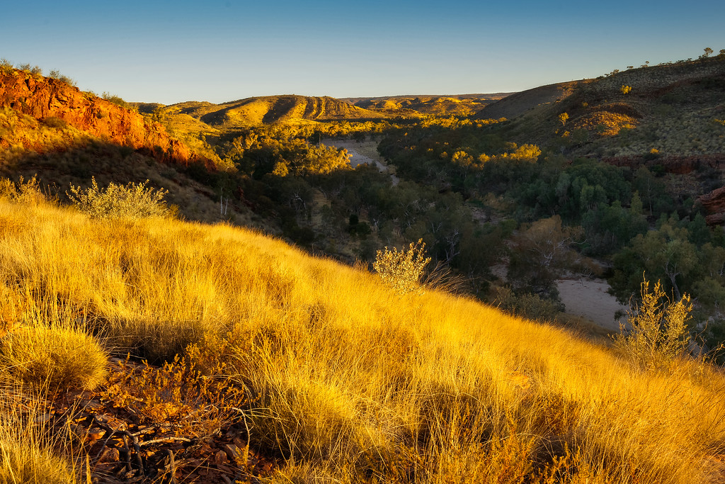 Magic Hour in the West Mac Donnell Range, Australia.