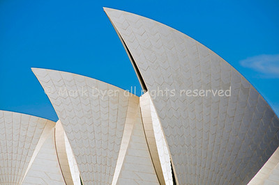 Sydney Opera House roof close-up