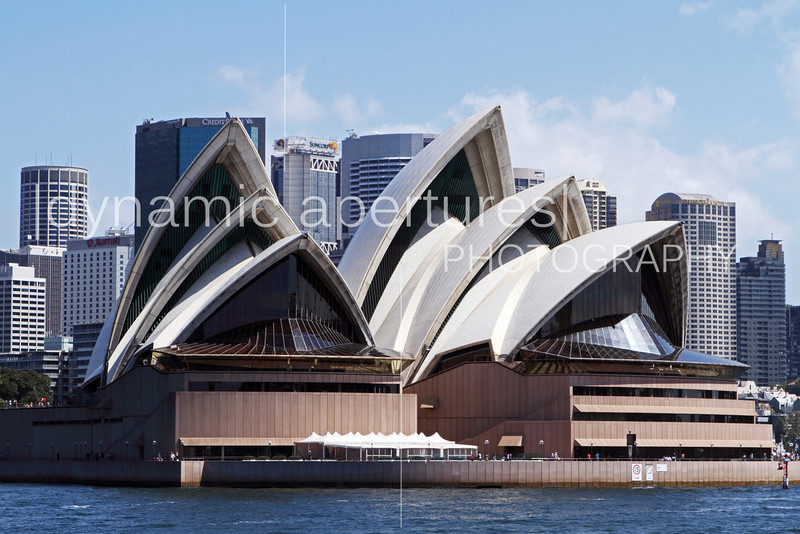 Sydney Opera House viewed from the Manly Ferry