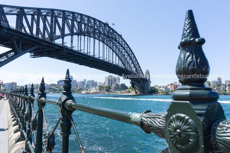 Sydney Harbor Bridge from below