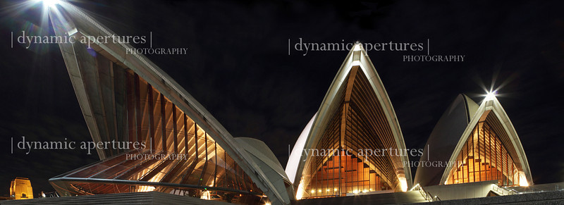 Panorama of the Sydney Opera House
