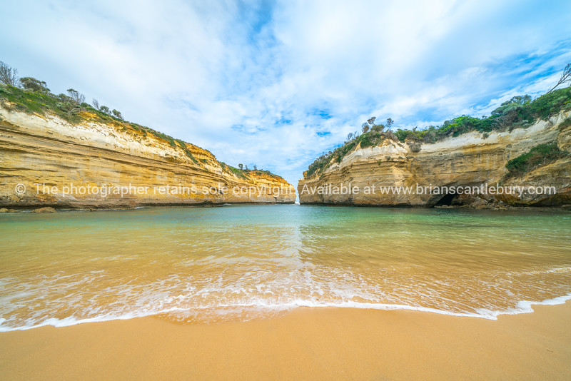 Protected bay in Loch Ard Gorge.
