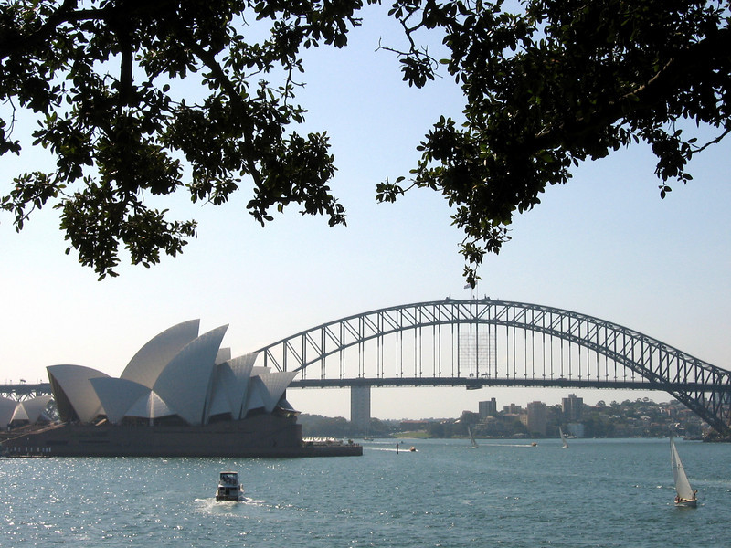 Opera House, Bridge and Boats - Australia