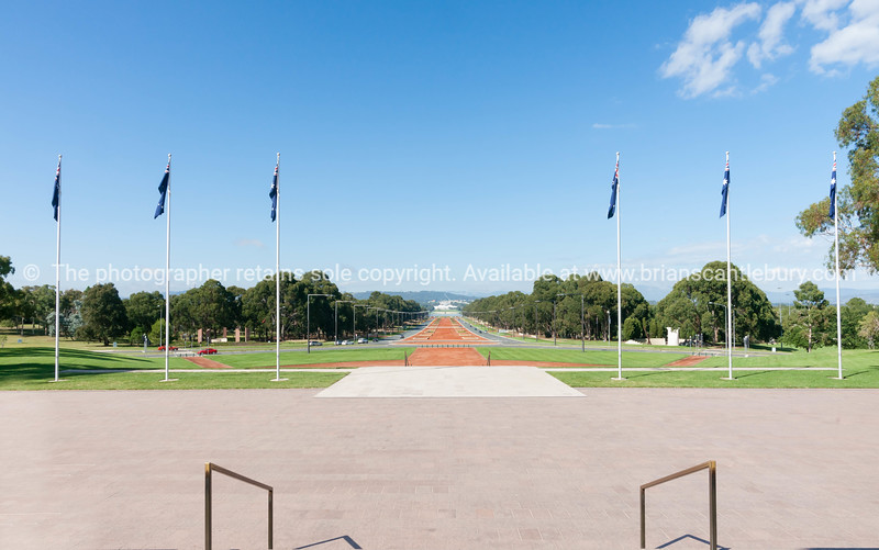 Australian Anzac Parade  Canberra