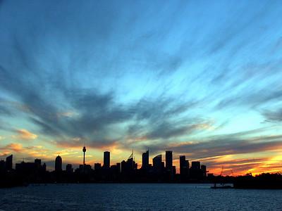 Sydney - Skyline Sunset