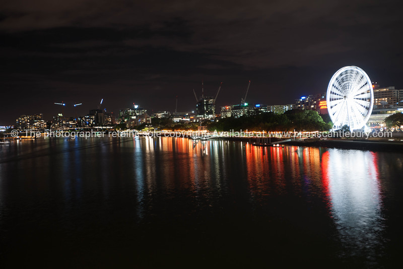 Lights of the South Bank, Brisbane Australia