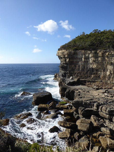 Fossil Bay Lookout, near the Blowhole at Eaglehawk Neck