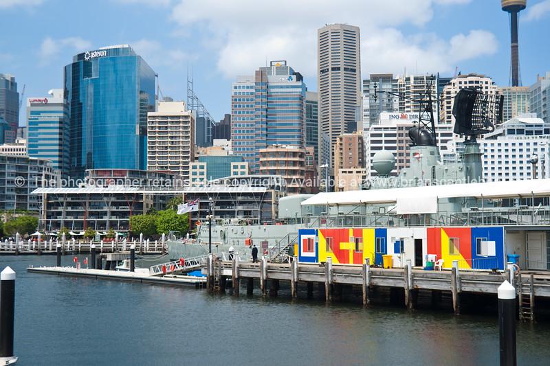 Darling Harbour scenes, Sydney, Australia.