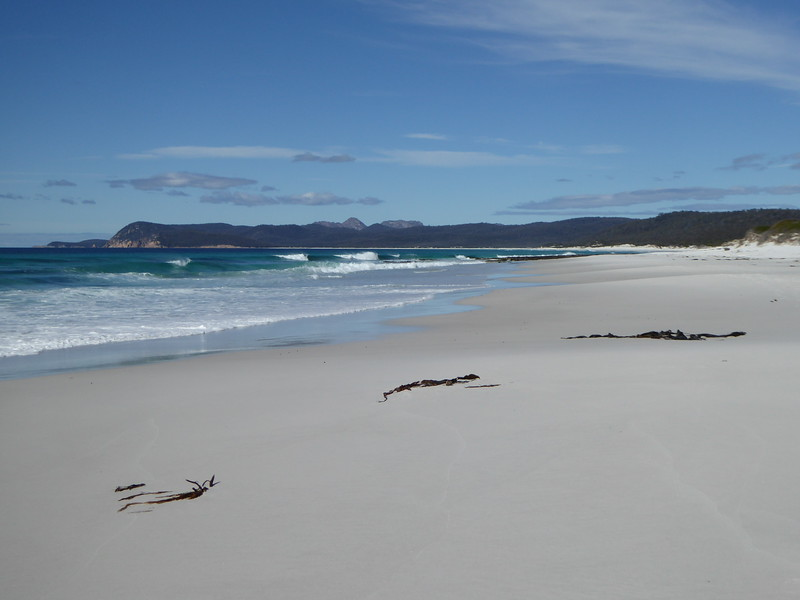 White sands of Friendly Beaches