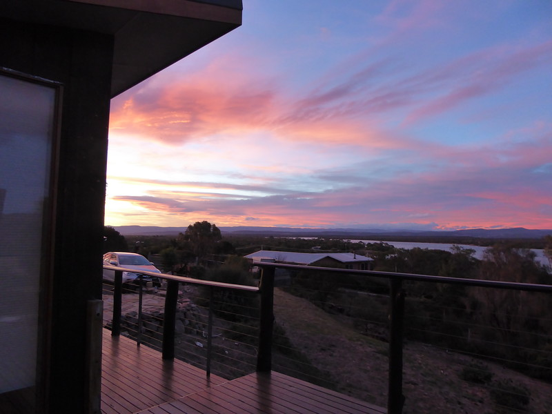 Sunset at Studio 59, Coles Bay