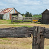 "Rustic rural Australia, old farm buildings, with weathered wooden fences, near Cowper.<br />  see also <a href=""http://smu.gs/14LcY8Y"">http://smu.gs/14LcY8Y</a> Fine Art Photograhpy for landscapes."