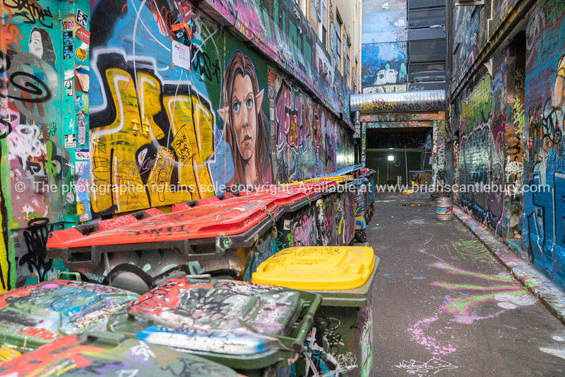 Scenes from Hosier Lane