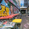 Scenes from Hosier Lane
