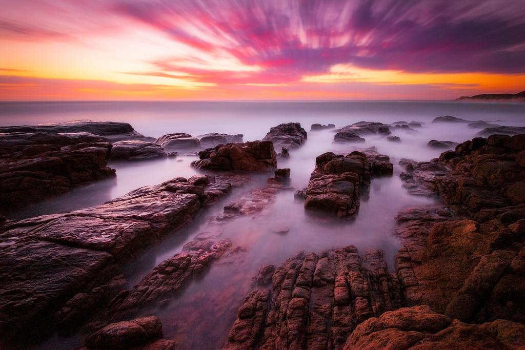 Sunset, Margeret River, Western Australia.